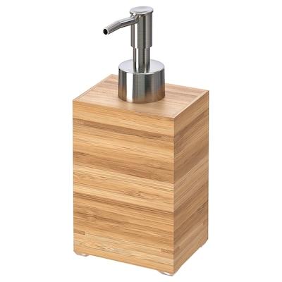 DRAGAN Soap dispenser, bamboo