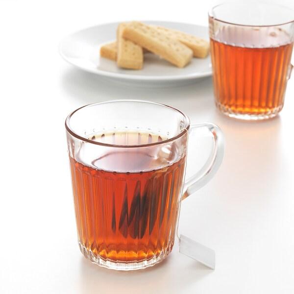 DRÖMBILD Mug, clear glass, 25 cl