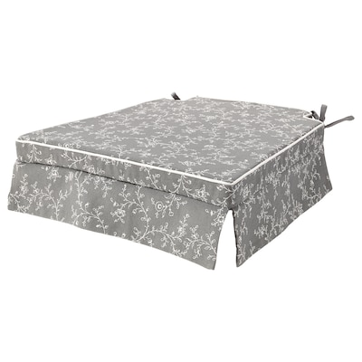 ELSEBET Chair pad, grey, 43x42x4.0 cm