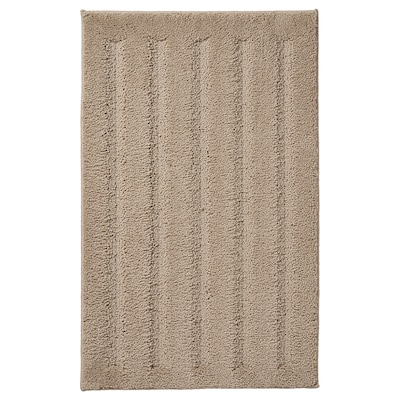 EMTEN Bath mat, dark beige, 50x80 cm