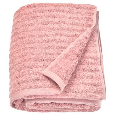 FLODALEN Bath sheet, light pink, 100x150 cm