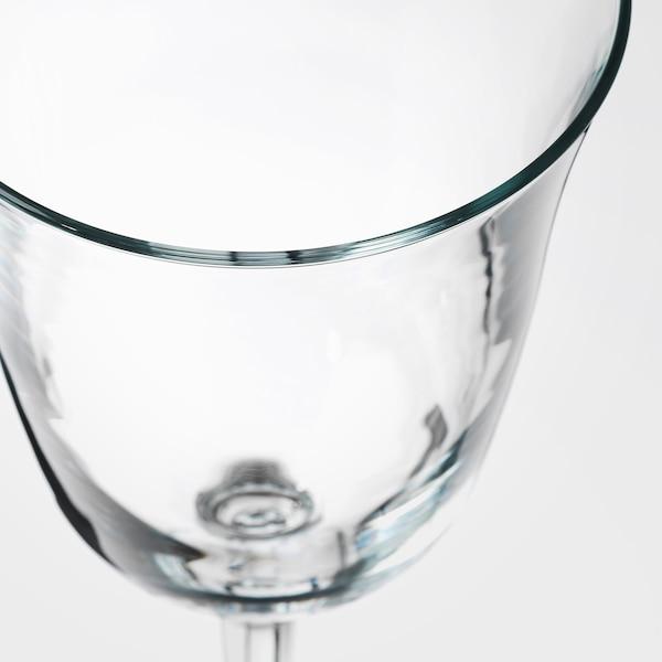 FRAMTRÄDA Wine glass, clear glass, 30 cl