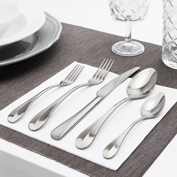 GAMMAN 20-piece cutlery set, stainless steel