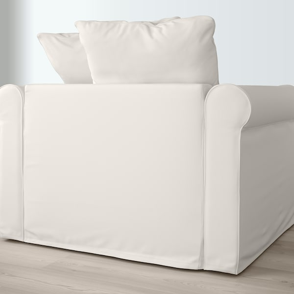 HÄRLANDA Chaise longue, white