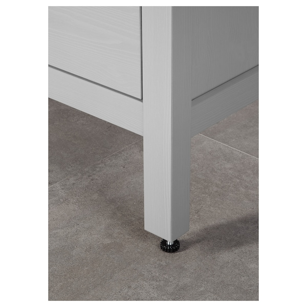 HEMNES Wash-stand with 2 drawers, grey, 100x47x83 cm