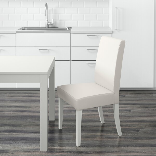 HENRIKSDAL Chair, white/Gräsbo white
