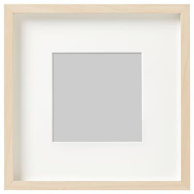 HOVSTA Frame, birch effect, 23x23 cm