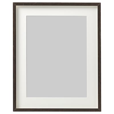 HOVSTA Frame, dark brown, 31x41 cm
