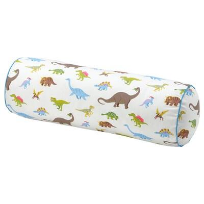 JÄTTELIK Cushion, dinosaur, 80 cm