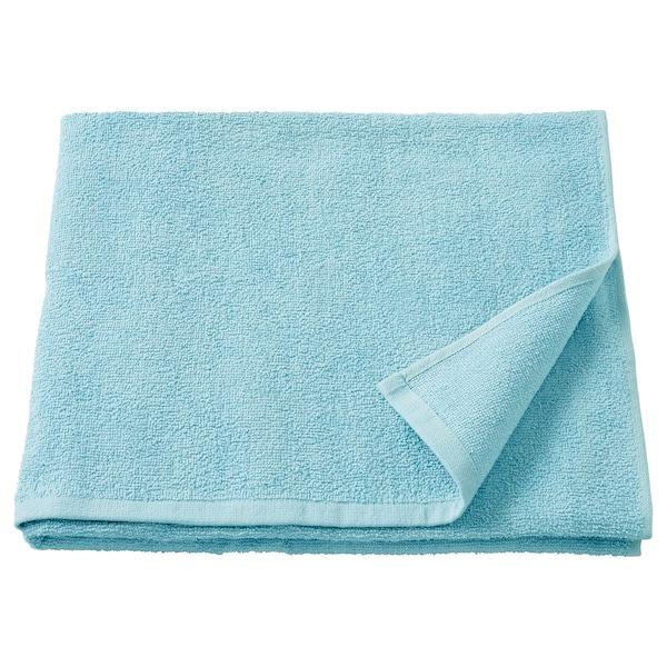 KORNAN Bath towel, light blue, 70x140 cm - IKEA