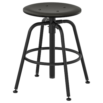 KULLABERG Stool, black