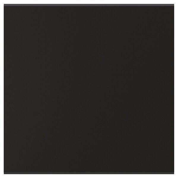 KUNGSBACKA Door, anthracite, 38x38 cm