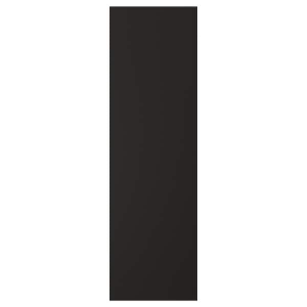 KUNGSBACKA Door, anthracite, 31x102 cm
