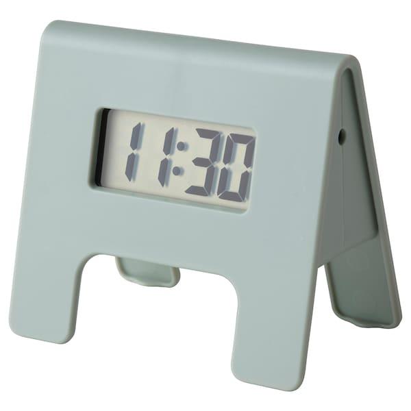 KUPONG Alarm clock, green, 4x6 cm