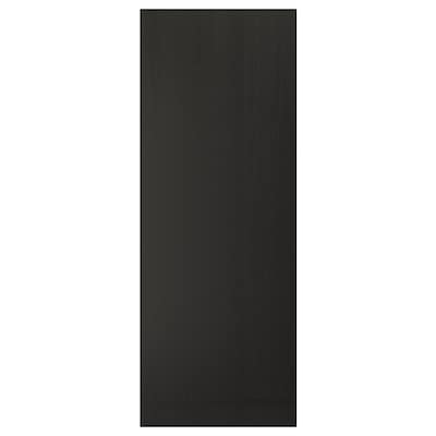 LERHYTTAN Cover panel, black stained, 91.4x243.8 cm