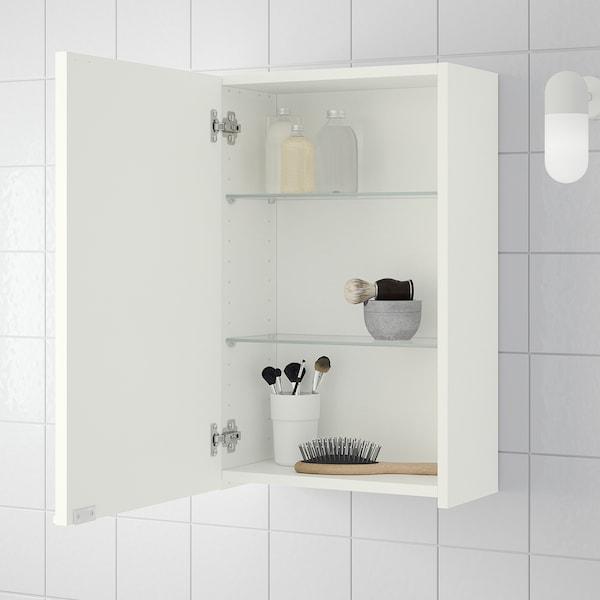 Lillången Wall Cabinet White 40x21x64 Cm Ikea