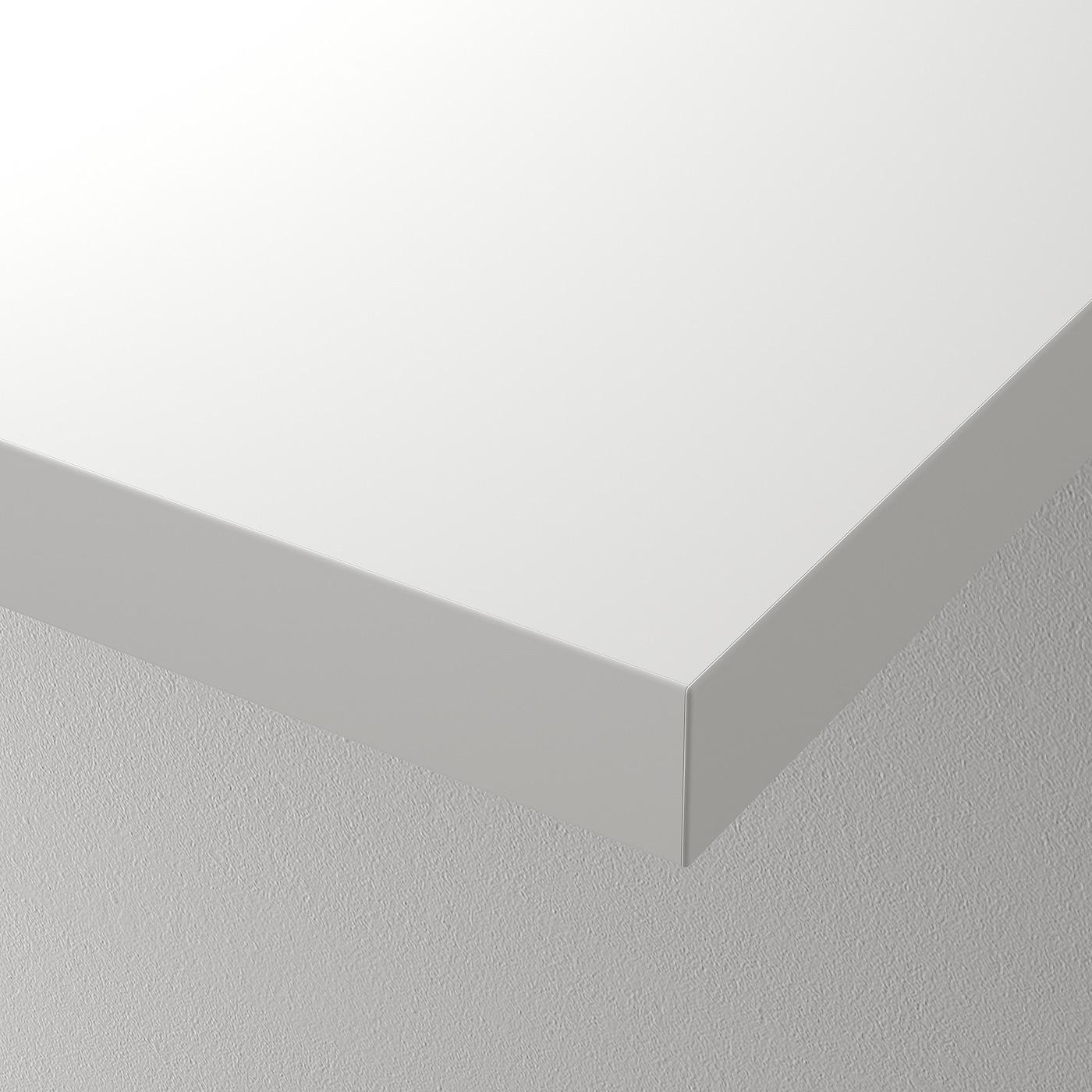 Dessus de table 100x60 cm brun noir Ikea LINNMON