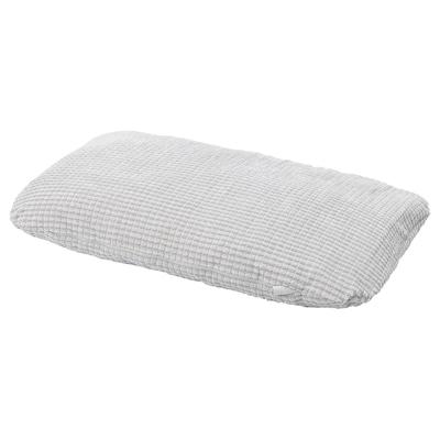 LURVIG Cushion, light grey, 46x74 cm