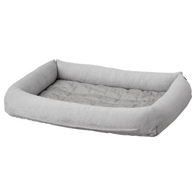 LURVIG Dog bed, light grey, L