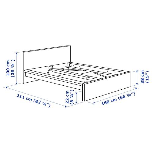 Malm Bed Frame High White Ikea
