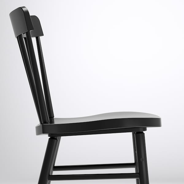 MÖCKELBY / NORRARYD Table and 6 chairs, oak/black, 235x100 cm
