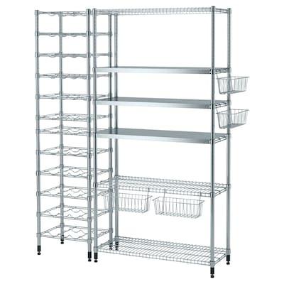 OMAR 3 shelf sections, 150x49x181 cm