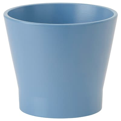 PAPAJA Plant pot, blue, 10.5 cm