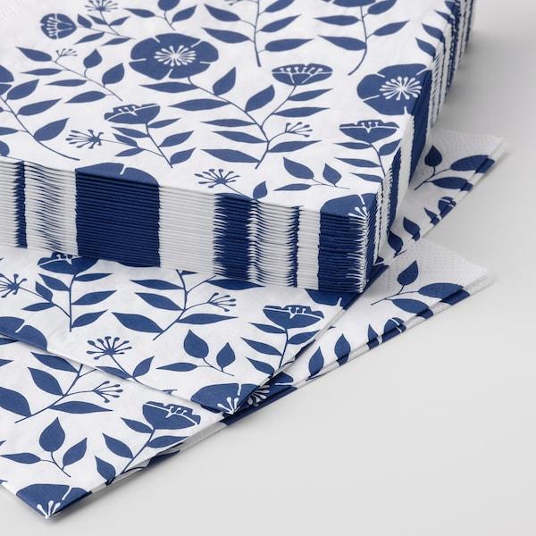 ROSENHÄTTA Paper napkin, assorted colours, 33x33 cm
