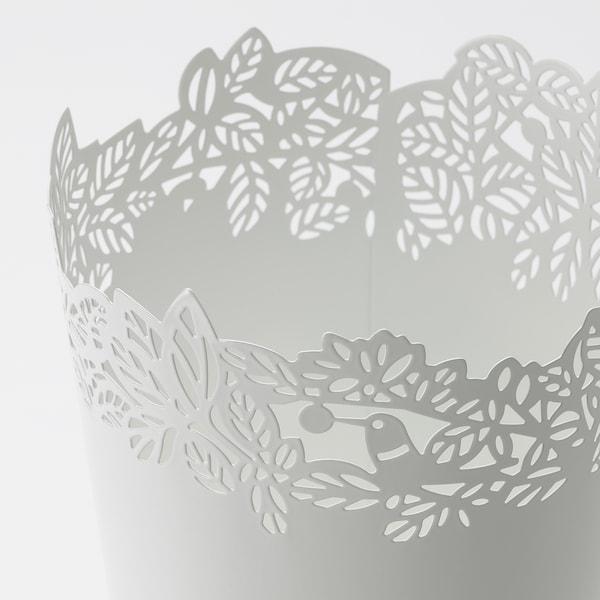SAMVERKA Plant pot, white, 10.5 cm