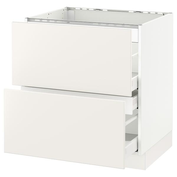 SEKTION Base cab f hob/2 fronts/3 drawers