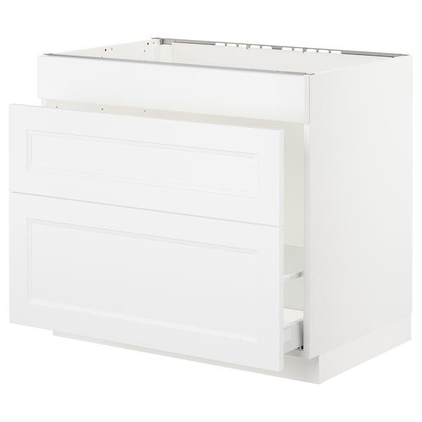 SEKTION Base cab f sink/waste sort/3 fronts
