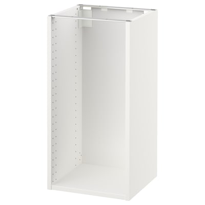 SEKTION Base cabinet frame, white, 38x38x76 cm