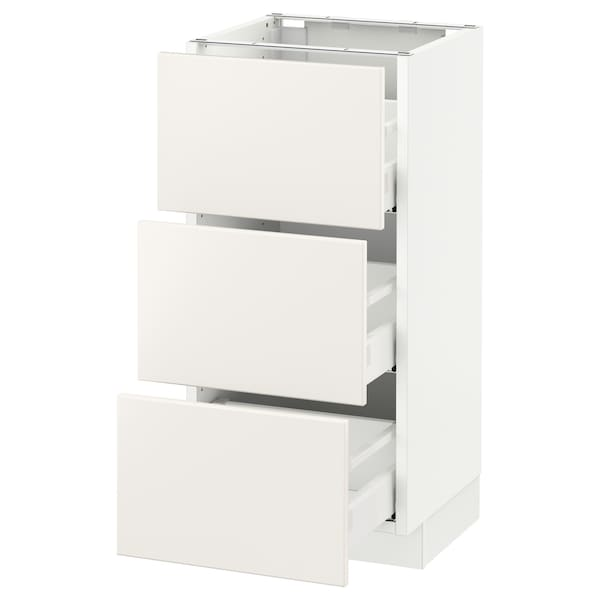 SEKTION Base cabinet with 3 drawers