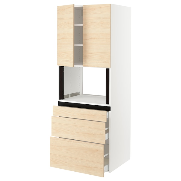 SEKTION Hi cb f micro w 3 drawers/2 doors
