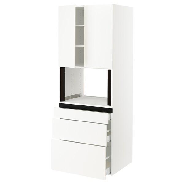 SEKTION Hi cb f micro w 3 drawers/2 doors
