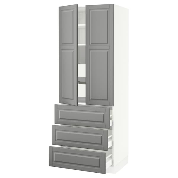 SEKTION High cab w 2 drs/3 fronts/5 drawers