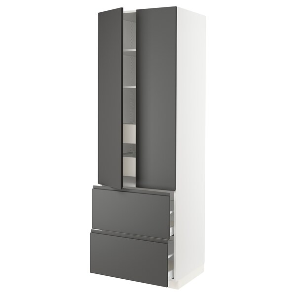 SEKTION High cab w 2drs/2 fronts/4 drawers