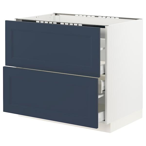 SEKTION / MAXIMERA Base cab f hob/2 fronts/3 drawers