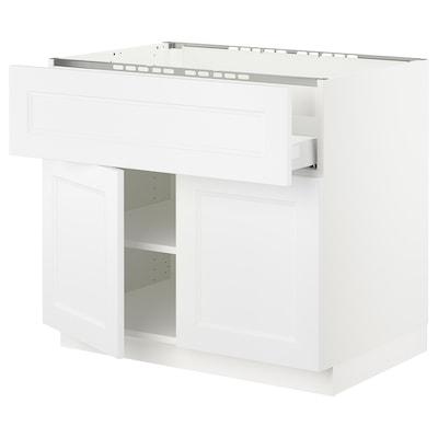 SEKTION / MAXIMERA Base cab f hob/drawer/shelves/2 drs