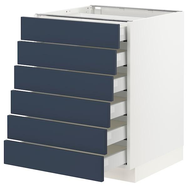 SEKTION / MAXIMERA Base cabinet 6 fronts/6 low drawers