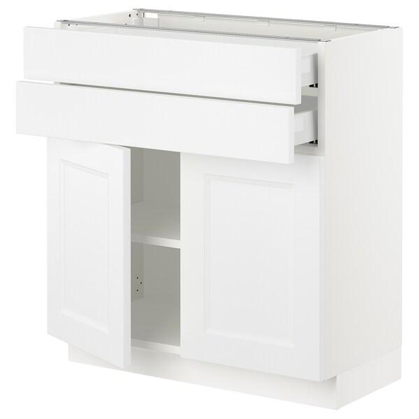 SEKTION / MAXIMERA Base cabinet w 2 doors/2 drawers