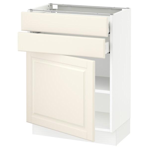 SEKTION / MAXIMERA Base cabinet w door/2 drawers