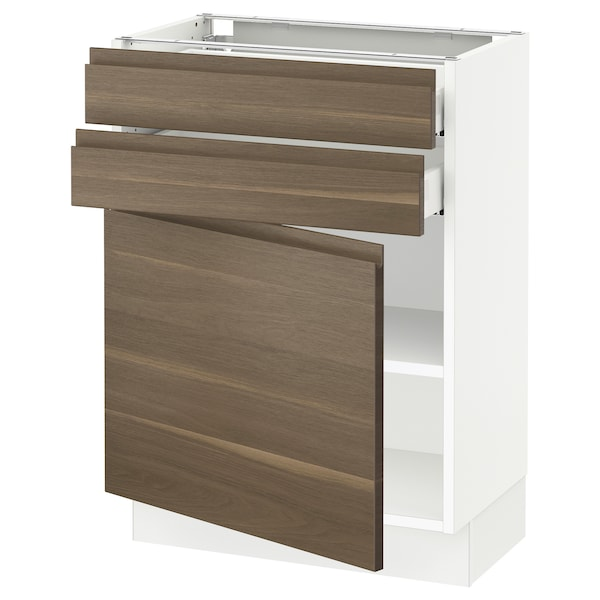 SEKTION / MAXIMERA Base cabinet w door/2 drawers