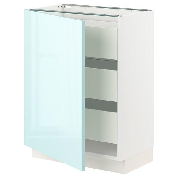 SEKTION / MAXIMERA Base cabinet with 1 door/3 drawers