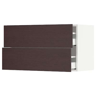 SEKTION / MAXIMERA Wall cabinet with 2 drawers