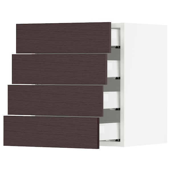 SEKTION / MAXIMERA Wall cabinet with 4 drawers