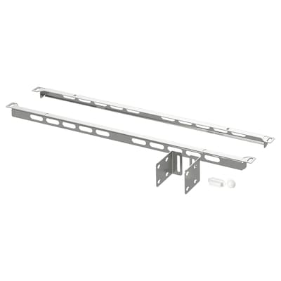 SEKTION Reinforced ventilated top rail, galvanised, 61 cm