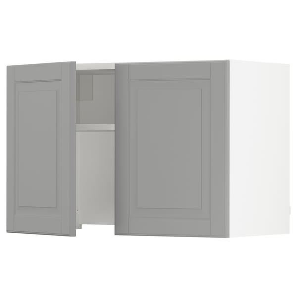 SEKTION Wall cab w built-in extractor hood