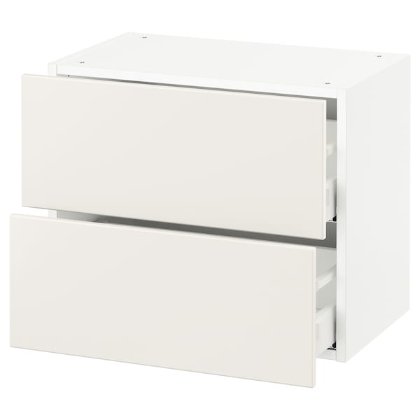 SEKTION Wall cabinet with 2 drawers