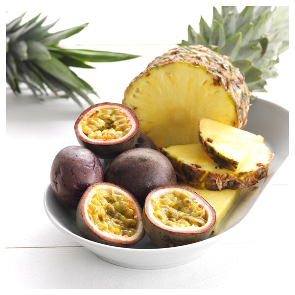 SINNLIG Scented tealight, Tropical pineapple/yellow